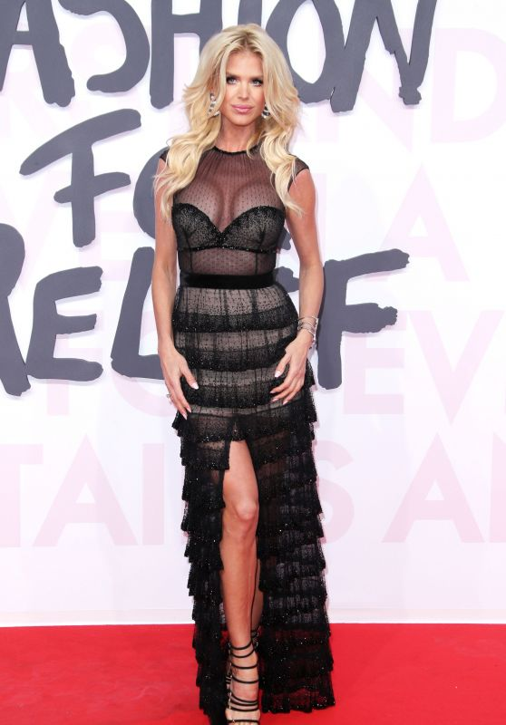"""Victoria Silvstedt – """"Fashion For Relief"""" Charity Gala in Cannes"""