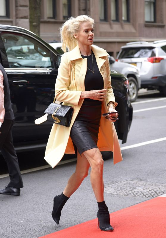Victoria Silvstedt Style - Mark Hotel in New York City 05/06/2018