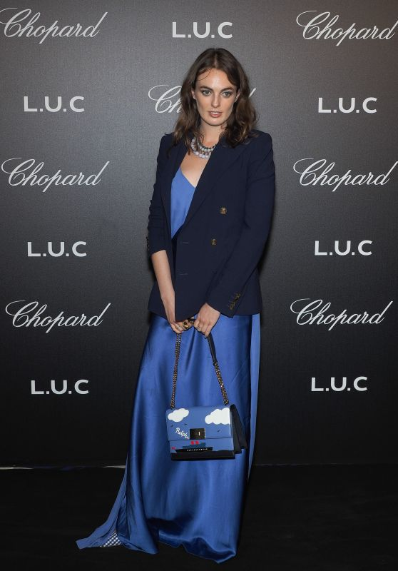 Violet Manners – Chopard Gentleman's Night in Cannes 05/09/2018