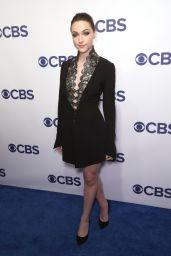 Violett Beane – CBS Upfront Presentation in New York 05/16/2018