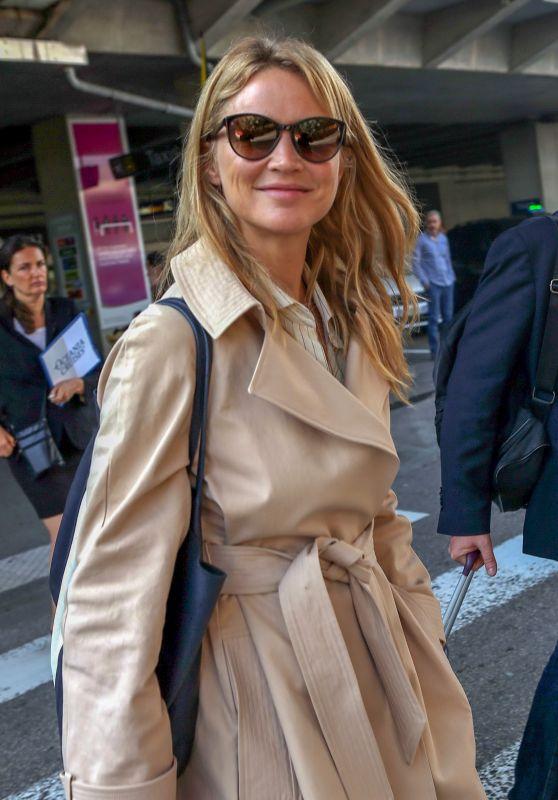 Virginie Efira Arriving at Nice Airport 05/10/2018