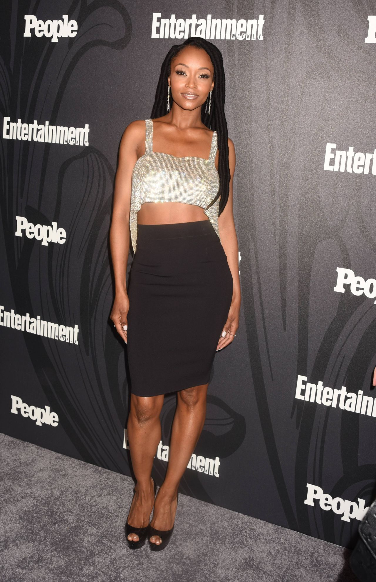 Yaya Dacosta 2018 Ew And People Upfronts Party In New York