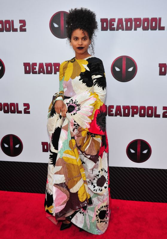 "Zazie Beetz - ""Deadpool 2"" Special Screening in New York 05/14/2018"