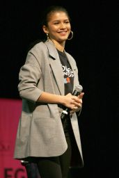 Zendaya - National College Signing Day at Temple University Liacouras Center in Philadelphia 05/02/2018