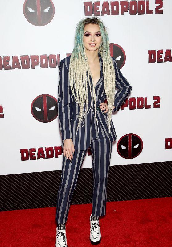 "Zhavia – ""Deadpool 2"" Special Screening in New York"