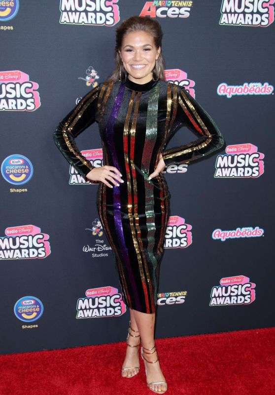 Abby Anderson – 2018 Radio Disney Music Awards in LA