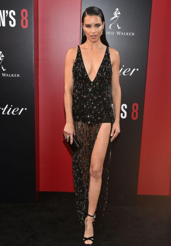 "Adriana Lima – ""Ocean's 8"" Premiere in New York City"