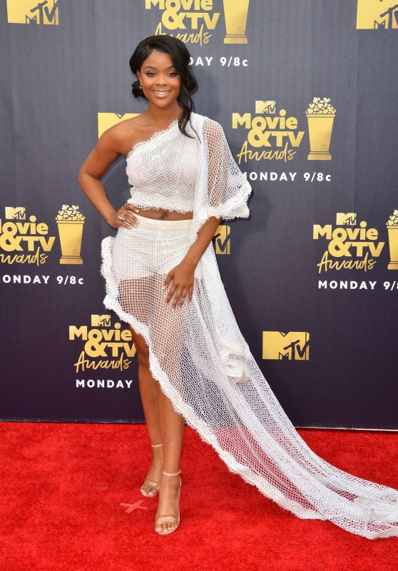 Ajiona Alexus – 2018 MTV Movie And TV Awards in Santa Monica