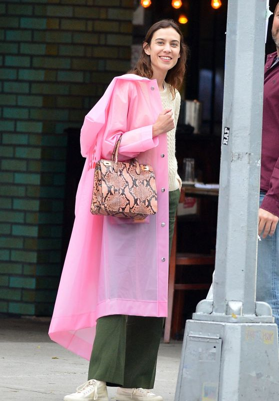Alexa Chung - Out in New York City, May 2018