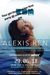 Alexis Ren in Bikini - Social Media 06/28/2018