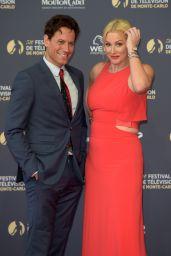 Alice Evans – 2018 Monte Carlo TV Festival Opening Ceremony