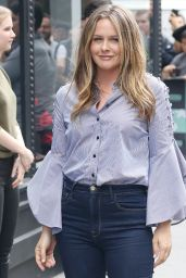 Alicia Silverstone at the BUILD Series in NYC 06/05/2018