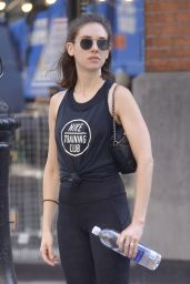 Alison Brie - Heading to a Workout Session in NYC 06/19/2018