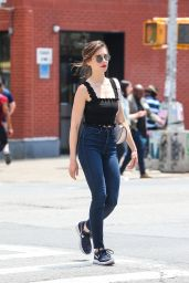Alison Brie in Tight Jeans - NYC 06/20/2018