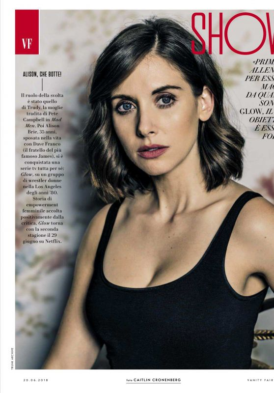 Alison Brie - Vanity Fair Italy June 2018