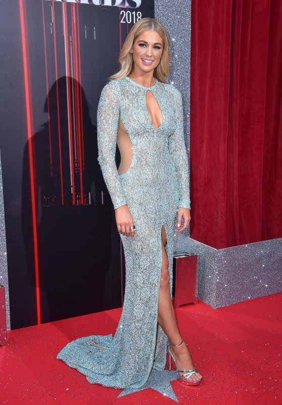 Amanda Clapham – British Soap Awards 2018 in London