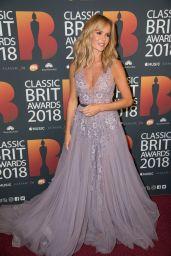 Amanda Holden – 2018 Classic Brit Awards in London