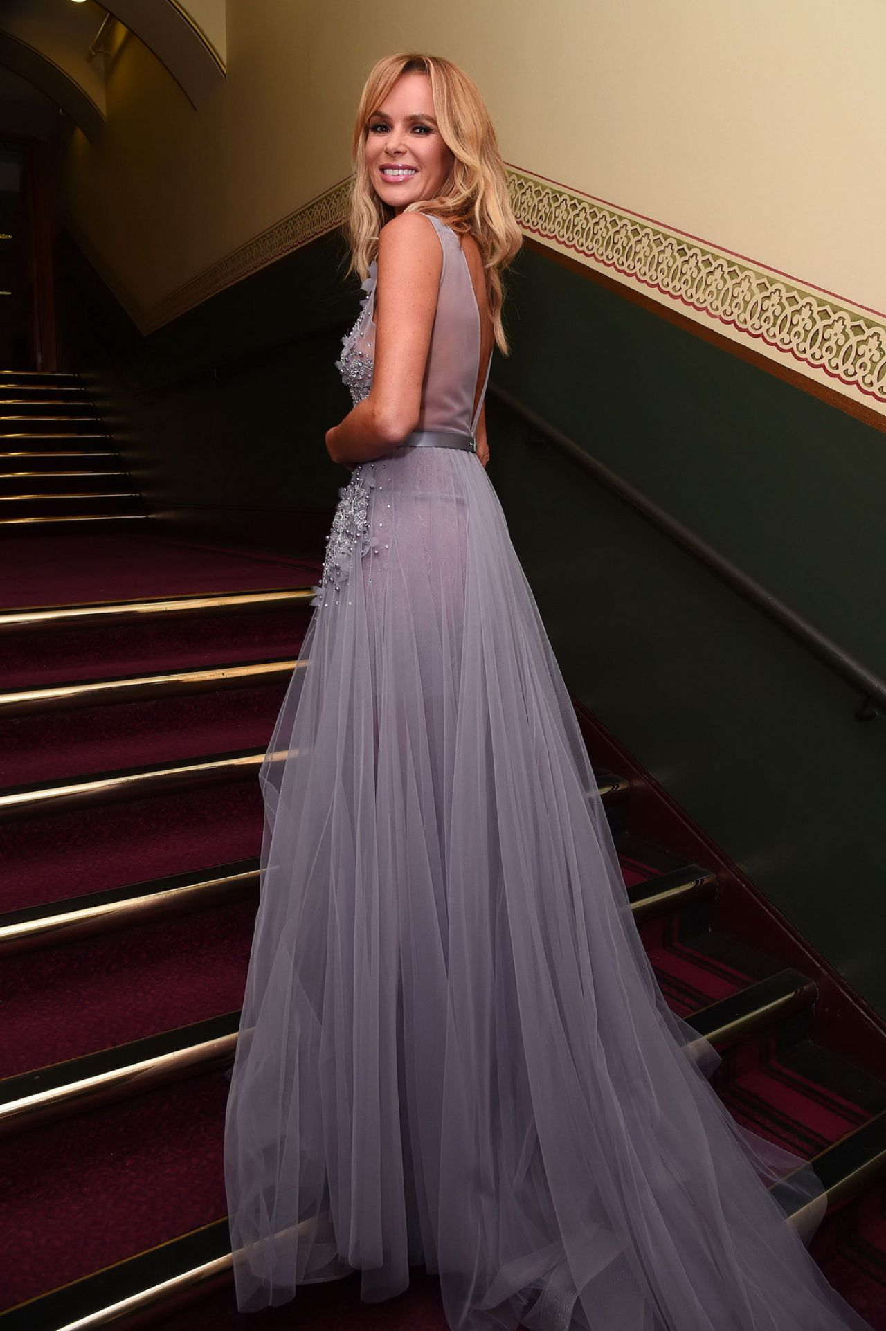 Amanda Holden 2018 Classic Brit Awards In London