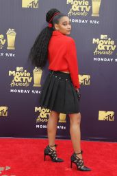 Amandla Stenberg – 2018 MTV Movie And TV Awards in Santa Monica