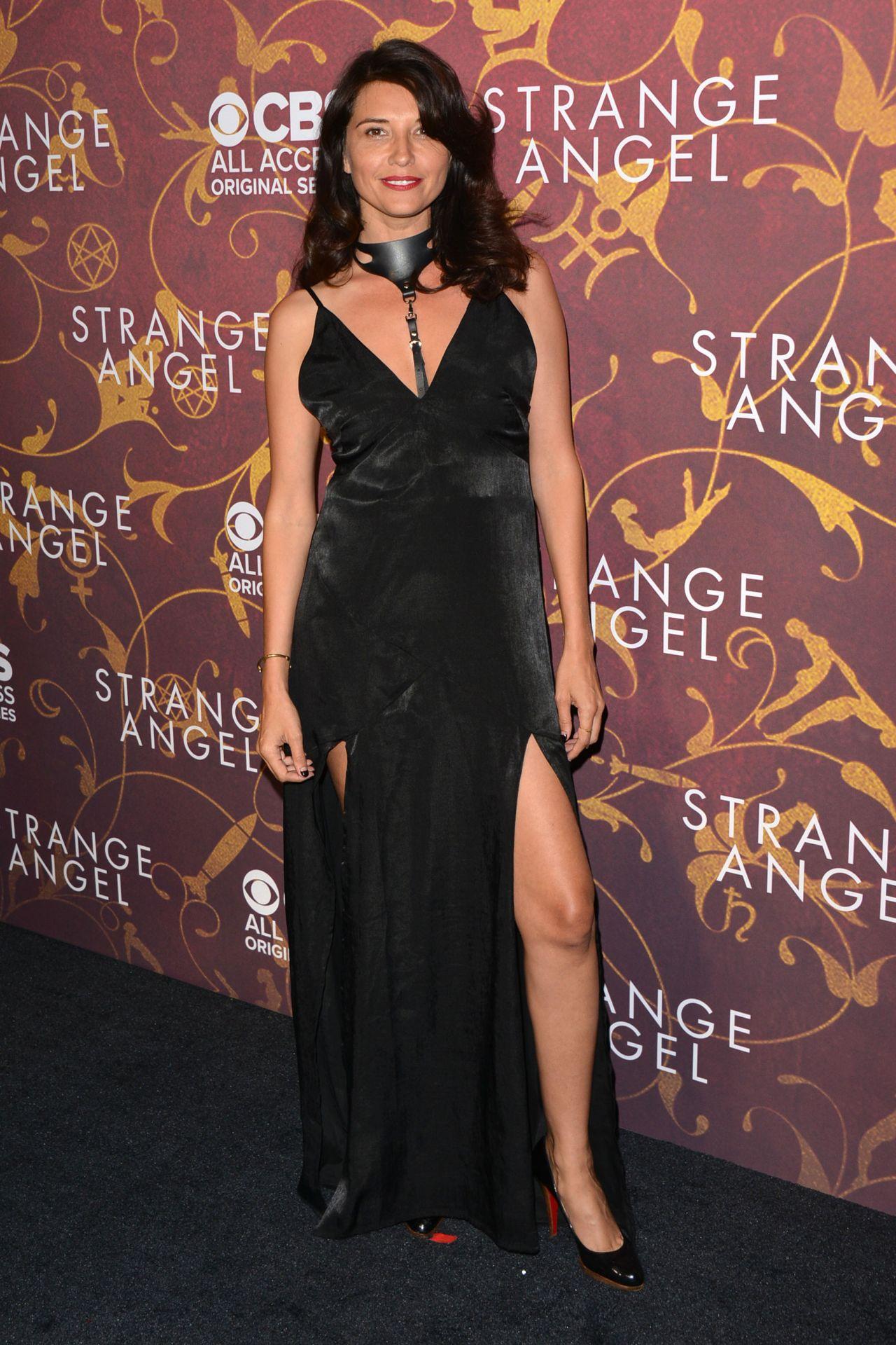 Amara Zaragoza Strange Angel Tv Show Premiere In La
