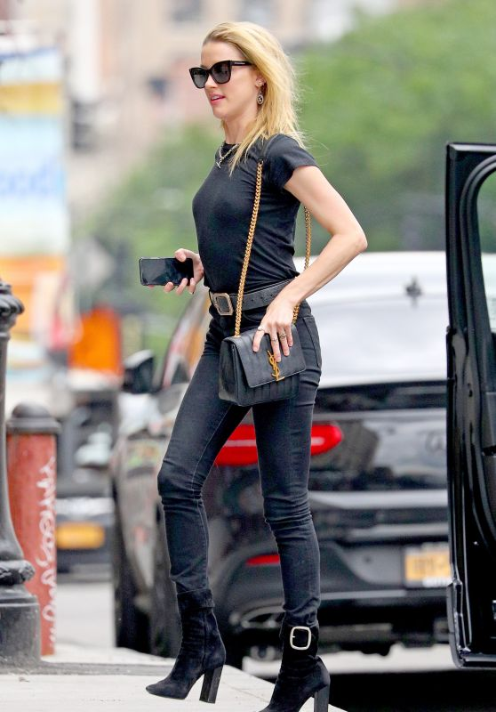 Amber Heard Casual Style - New York 06/07/2018