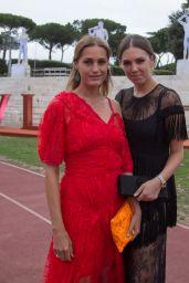 Amber Lebon and Yasmin Lebon - Bvlgari Parade in Rome 06/28/2018