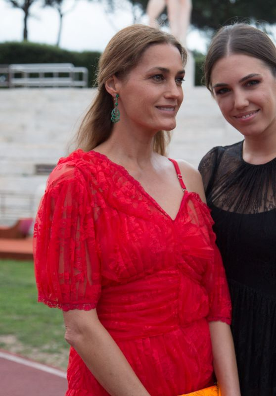 Amber Lebon and Yasmin Lebon - Bvlgari Parade in Rome 06/28/2018