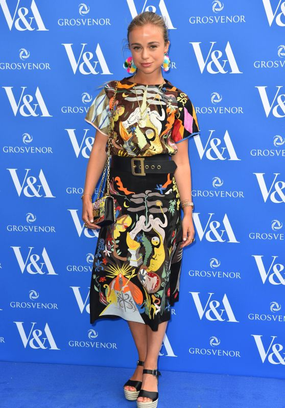 Amelia Windsor – The Victoria and Albert Museum Summer Party in London