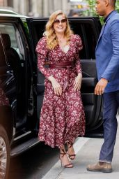 Amy Adams - Arriving to Appear on BUILD Series in NY 06/28/2018