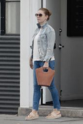 Amy Adams in Casual Outfit - Beverly Hills 06/22/2018