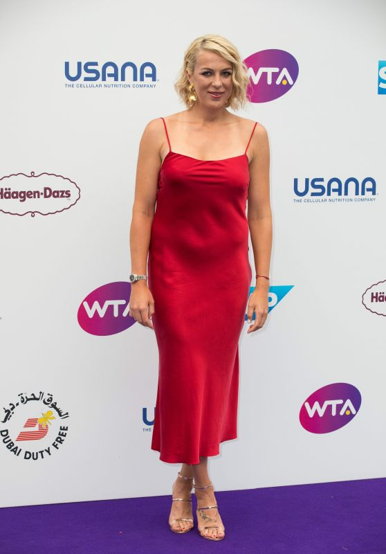 Anastasia Pavlyuchenkova – WTA Tennis on The Thames Evening Reception in London 06/28/2018