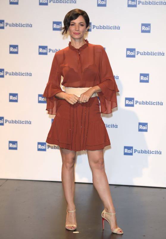 Andrea Delogu – Presentation Palinsesti Rai in Milan 06/27/2018