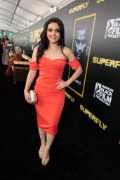 "Andrea Londo - ""SuperFly"" Screening at American Black Film Festival in Miami Beach 06/13/2018"