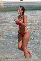 Angela Nasti in Bikini at Solymar Restaurant in Kalo Livadi Beach in Mykonos 06/14/2018