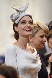 Angelina Jolie - 200th Anniversary of the Most Distinguished Order of St Michael and St George in London