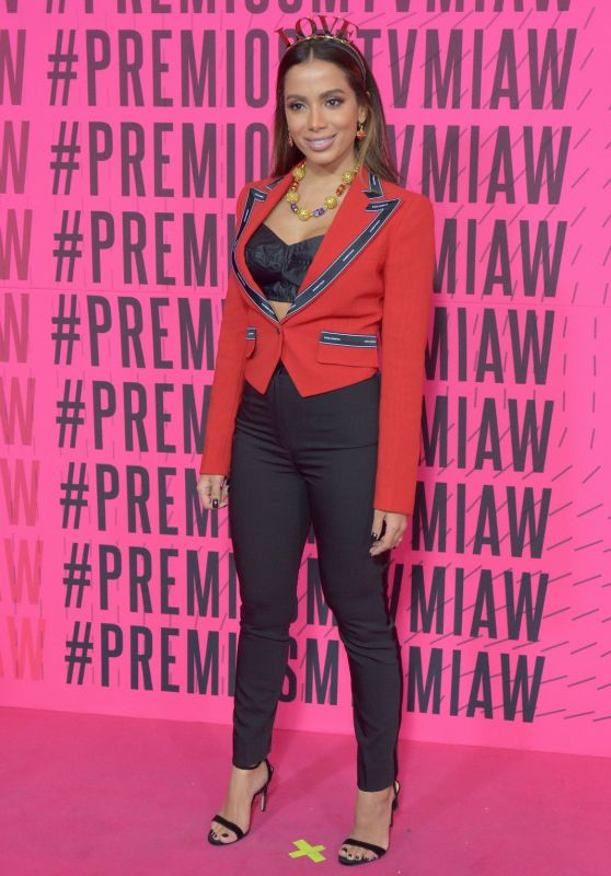 Anitta - 2018 MTV Millenial Awards in Mexico City