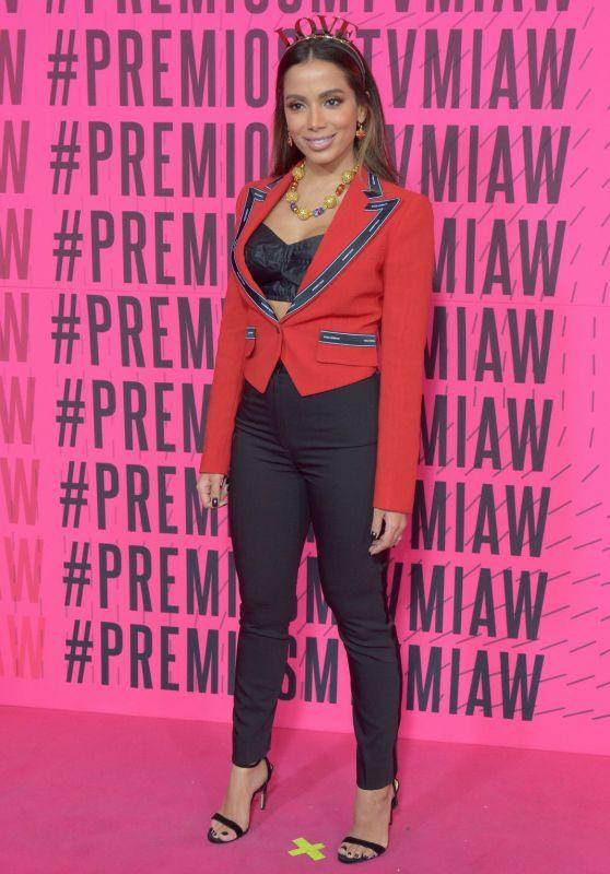 Anitta - 2018 MTV Millenial Awards in Mexico City