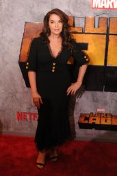 """Annabella Sciorra – """"Luke Cage"""" TV Series Premiere in New York"""