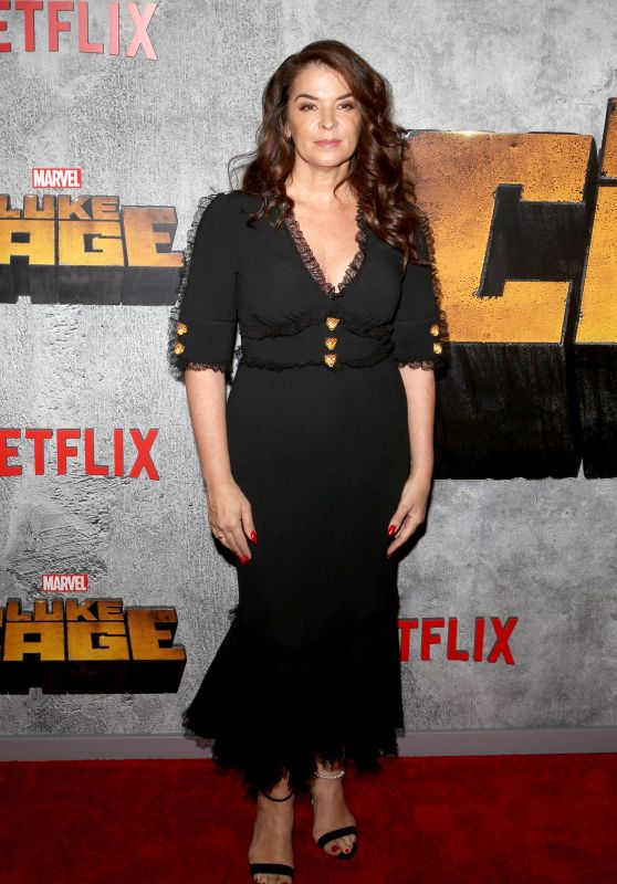 "Annabella Sciorra – ""Luke Cage"" TV Series Premiere in New York"