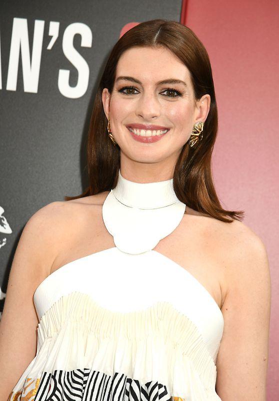 "Anne Hathaway – ""Ocean's 8"" Premiere in New York City"