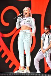 Anne-Marie – Performs at Capital FM Summertime Ball in London
