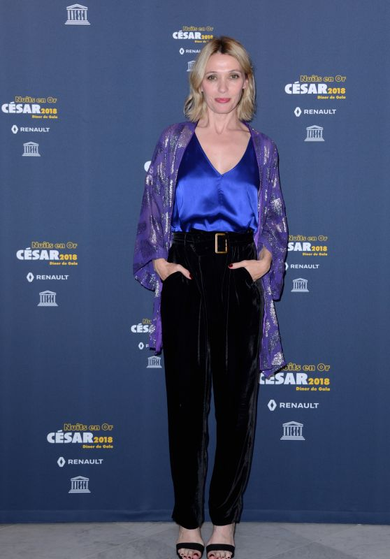 Anne Marivin – 8th Nuits en Or Gala Dinner in Paris 06/11/2018