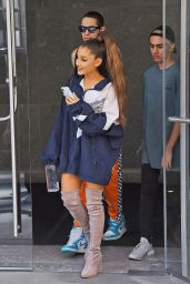 Ariana Grande and Pete Davidson Shopping at Sephora in NYC 06/29/2018
