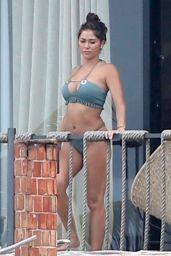 Arianny Celeste in Bikini on the Beach in Tulum 06/20/2018