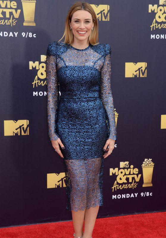 Arielle Vandenberg – 2018 MTV Movie And TV Awards in Santa Monica