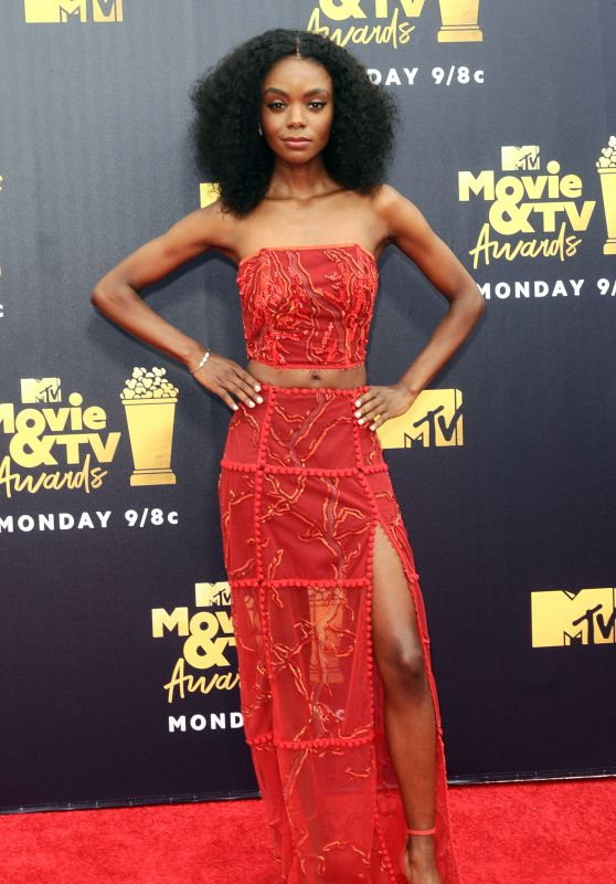 Ashleigh Murray – 2018 MTV Movie And TV Awards in Santa Monica