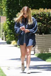 Ashley Benson - Leaving a Hair Salon in West Hollywood 06/11/2018