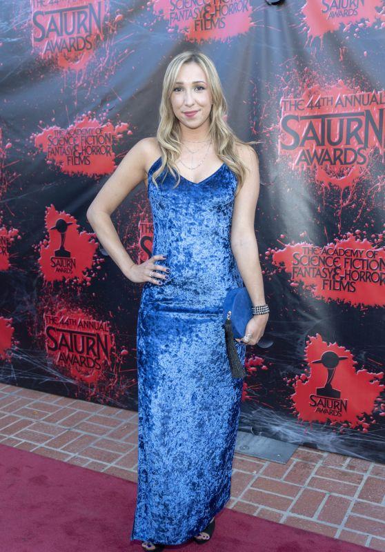 Ashley Edner – 2018 Saturn Awards in Burbank