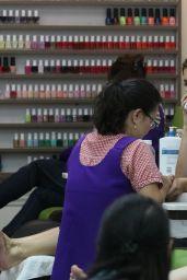 Ashley Greene - Gets a Mani/Pedi at the Beverly Hills Nail Salon in Beverly Hills 06/21/2018
