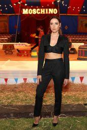 Aubrey Plaza – Moschino S/S 2019 Menswear And Women's Resort Collection in Burbank